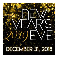 New Years Eve 2019<br />December&nbsp;31 <br />8:00pm &#038; 10:30pm
